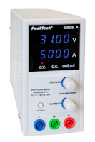 PeakTech 6225A - Alimentatore Switching CC 1 - 30 V / 0 - 5 A